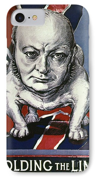 Wwii:churchill Poster 1942 Phone Case by Granger