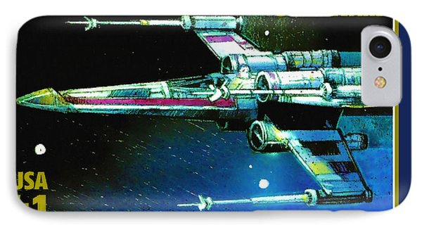 X-wing Starfighter IPhone Case by Lanjee Chee