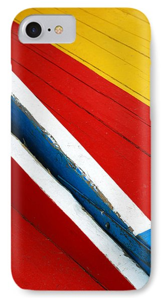 Xochimilco Boat Abstract 1 Phone Case by Skip Hunt