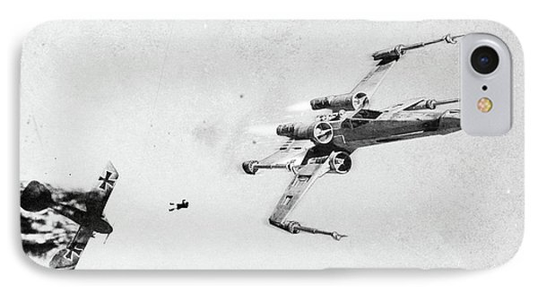 Xwing IPhone Case by Andrea Gatti