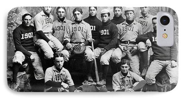 Yale Baseball Team, 1901 Phone Case by Granger