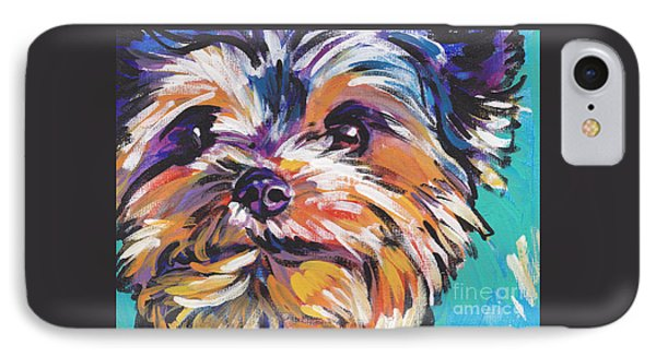 Yay Yorkie  IPhone Case by Lea S