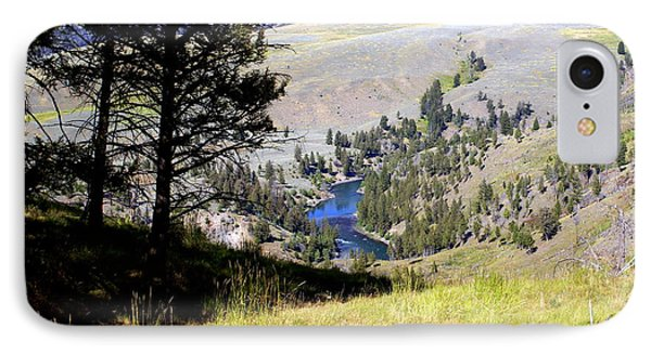 Yellowstone River Vista Phone Case by Marty Koch