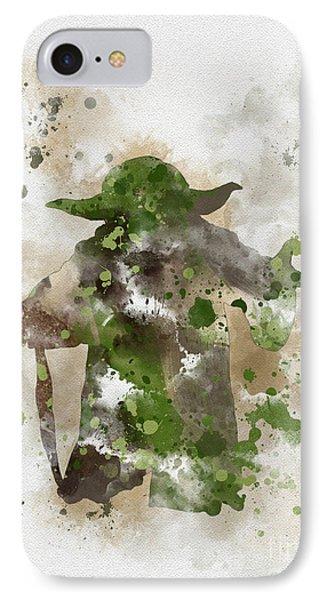 Yoda IPhone Case by Rebecca Jenkins