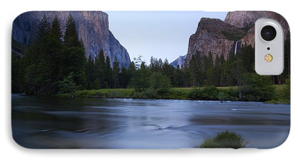 Yosemite Twilight IPhone Case by Mike  Dawson