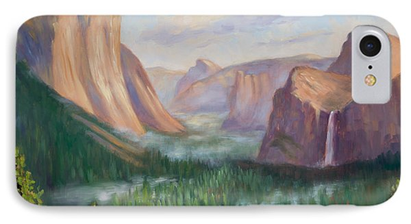 Yosemite Valley Phone Case by Karin  Leonard