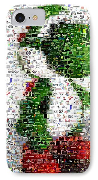 Yoshi Mosaic IPhone Case by Paul Van Scott