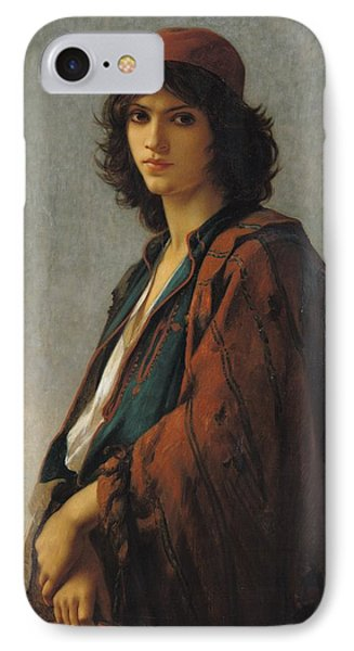Young Bohemian Serb IPhone Case by Charles Landelle