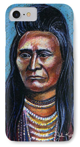 Young Indian Phone Case by John Keaton