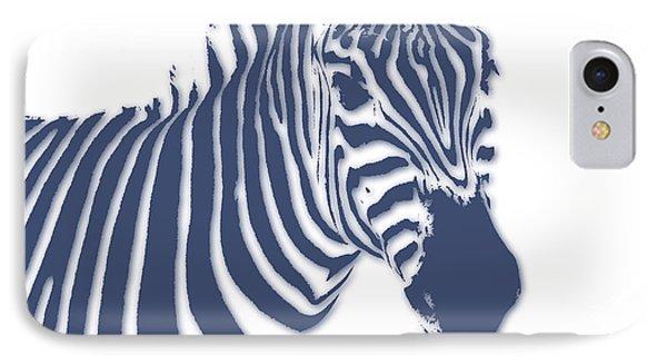 Zebra IPhone Case by Joe Hamilton
