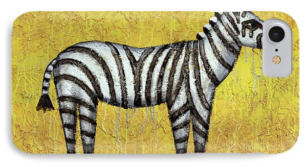 Zebra IPhone Case by Kelly Jade King