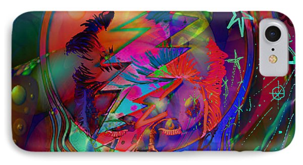 Ziggy  Phone Case by Kevin Caudill