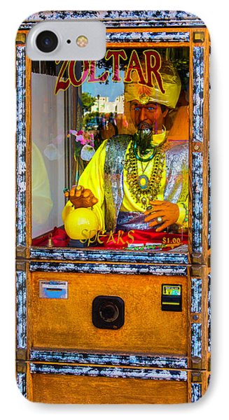 Zoltar Fortune Reader IPhone Case by Garry Gay