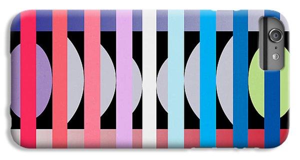 Fun Geometric  IPhone 7 Plus Case by Mark Ashkenazi