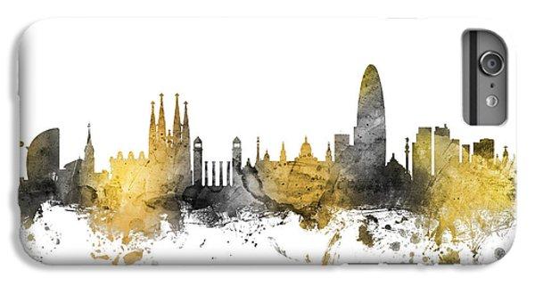 Barcelona Spain Skyline IPhone 7 Plus Case by Michael Tompsett