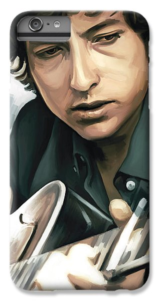 Bob Dylan Artwork IPhone 7 Plus Case by Sheraz A