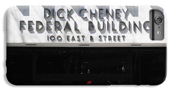 Dick Cheney Federal Bldg. IPhone 7 Plus Case by Oscar Williams