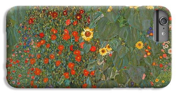 Farm Garden With Sunflowers IPhone 7 Plus Case by Gustav Klimt