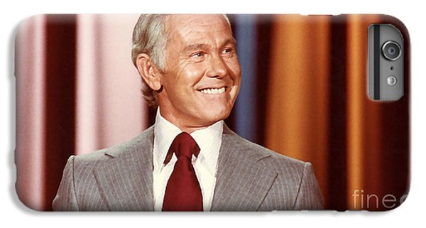 Johnny Carson IPhone 7 Plus Case by Marvin Blaine