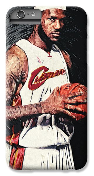 Lebron James IPhone 7 Plus Case by Taylan Soyturk