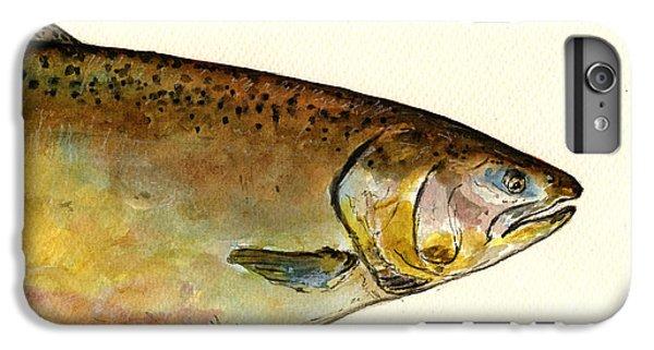 1 Part Chinook King Salmon IPhone 7 Plus Case by Juan  Bosco