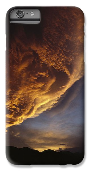 Sunset On Storm Clouds Near Mt Cook IPhone 7 Plus Case by Ian Whitehouse