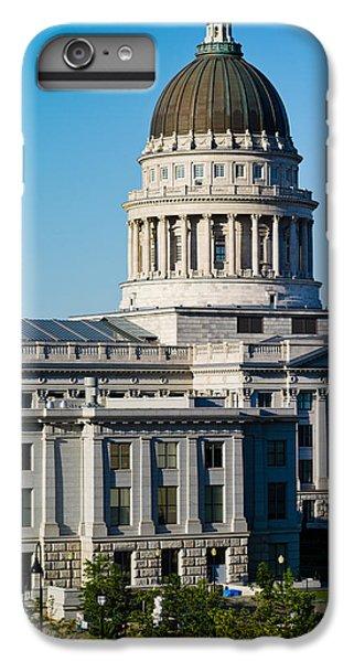 Utah State Capitol Building, Salt Lake IPhone 7 Plus Case by Panoramic Images
