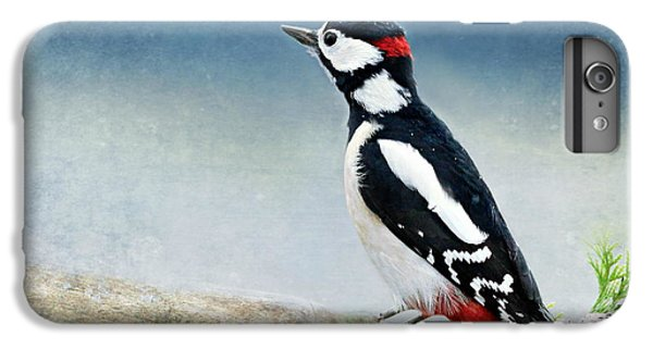 Woodpecker IPhone 7 Plus Case by Heike Hultsch