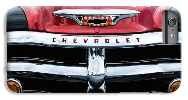 1955 Chevrolet 3100 Pickup Truck Grille Emblem IPhone 7 Plus Case by Jill Reger