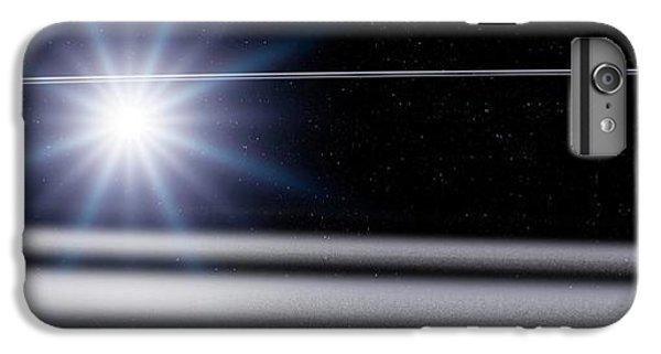 Chariklo Minor Planet And Rings IPhone 7 Plus Case by Detlev Van Ravenswaay