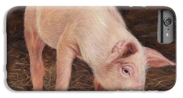 Pig IPhone 7 Plus Case by David Stribbling