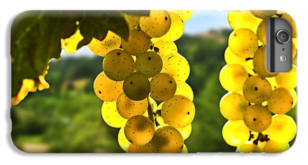 Yellow Grapes IPhone 7 Plus Case by Elena Elisseeva