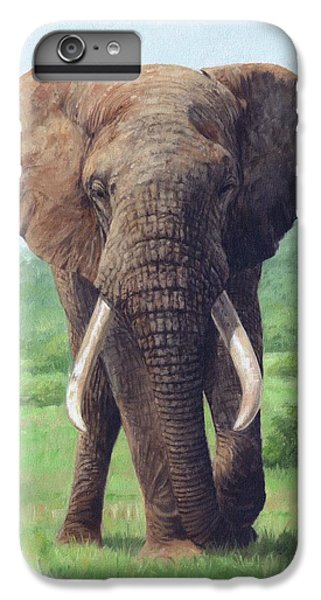 African Elephant IPhone 7 Plus Case by David Stribbling