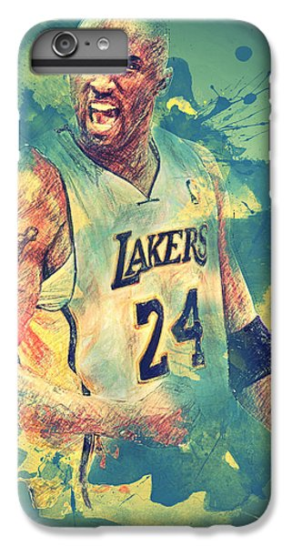 Kobe Bryant IPhone 7 Plus Case by Taylan Apukovska