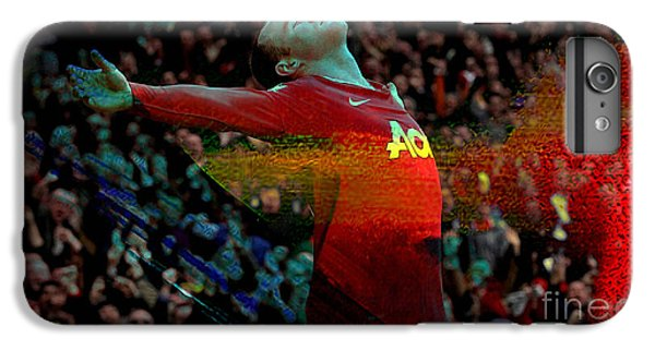 Wayne Rooney IPhone 7 Plus Case by Marvin Blaine