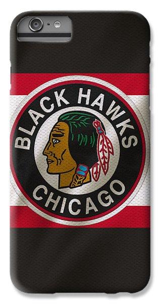 Chicago Blackhawks Uniform IPhone 7 Plus Case by Joe Hamilton
