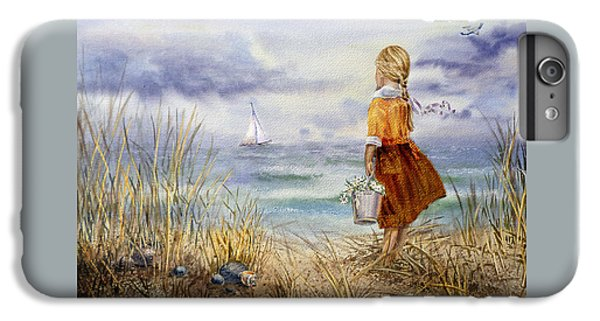A Girl And The Ocean IPhone 7 Plus Case by Irina Sztukowski