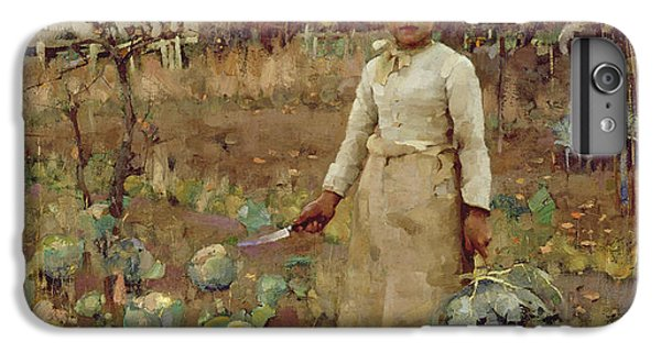 A Hinds Daughter, 1883 Oil On Canvas IPhone 7 Plus Case by Sir James Guthrie