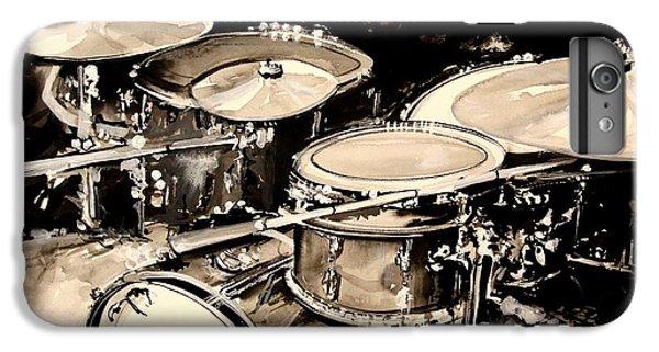 Abstract Drum Set IPhone 7 Plus Case by J Vincent Scarpace