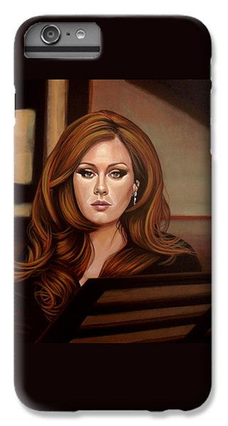 Adele IPhone 7 Plus Case by Paul Meijering