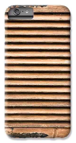 Antique Wooden Shutter IPhone 7 Plus Case by Tom Gowanlock