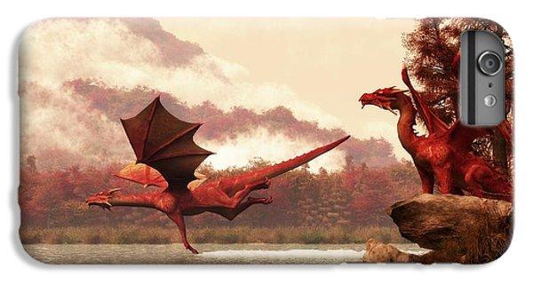 Autumn Dragons IPhone 7 Plus Case by Daniel Eskridge