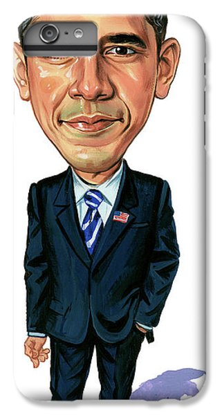 Barack Obama IPhone 7 Plus Case by Art