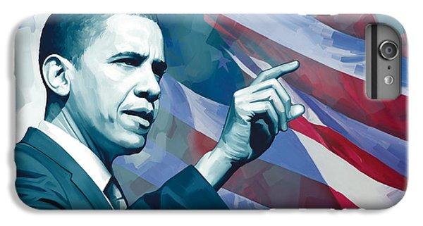 Barack Obama Artwork 2 IPhone 7 Plus Case by Sheraz A