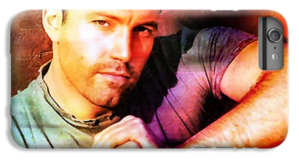 Ben Affleck IPhone 7 Plus Case by Marvin Blaine