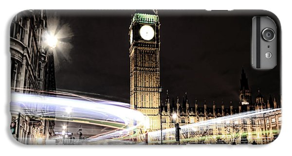 Big Ben With Light Trails IPhone 7 Plus Case by Jasna Buncic