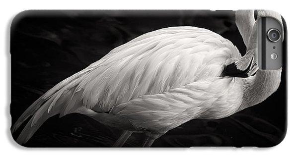 Black And White Flamingo IPhone 7 Plus Case by Adam Romanowicz