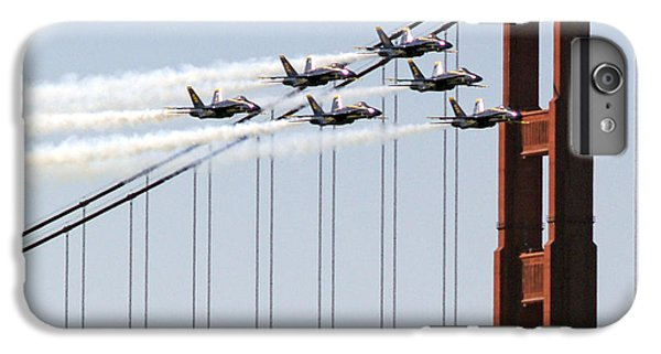 Blue Angels And The Bridge IPhone 7 Plus Case by Bill Gallagher