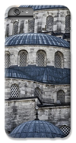 Blue Dawn Blue Mosque IPhone 7 Plus Case by Joan Carroll