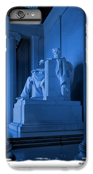 Blue Lincoln IPhone 7 Plus Case by Mike McGlothlen